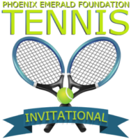 phoenix emerald foundation tennis invitational logo